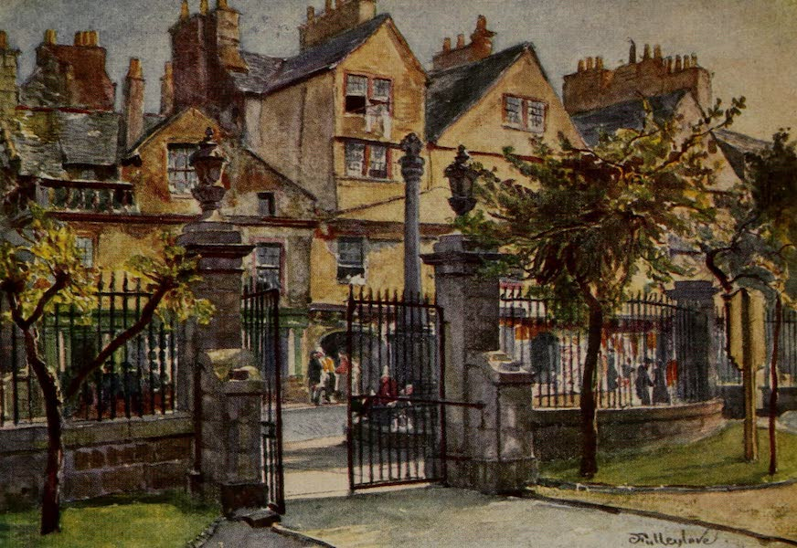 Edinburgh Painted and Described - Old Houses in Canongate (1904)