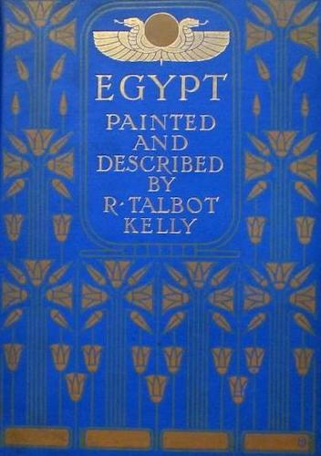 English - Egypt, Painted and Described