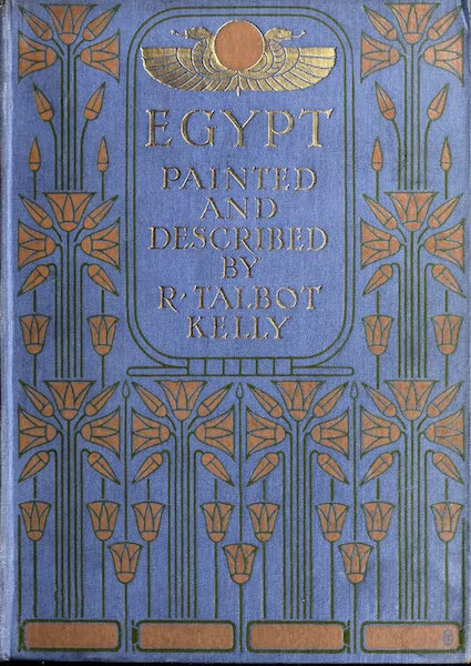 Egypt, Painted and Described - Front Cover (1902)