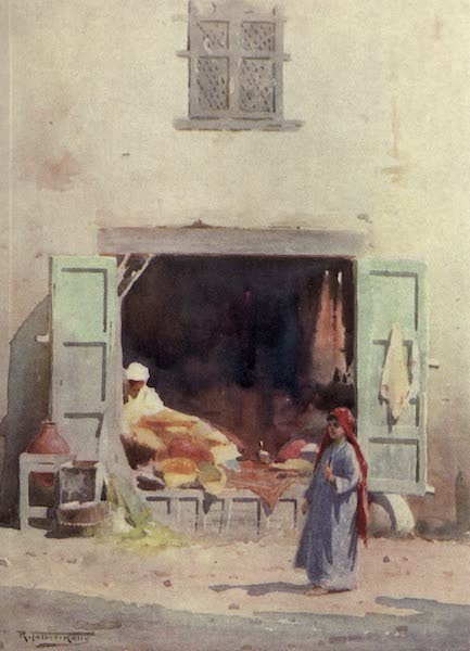 Egypt, Painted and Described - A Cairo Shop (1902)