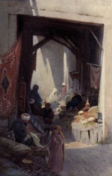 Egypt, Painted and Described - A Bazaar (1902)