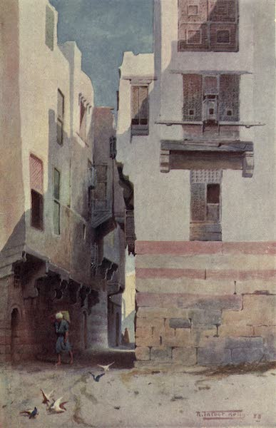 Egypt, Painted and Described - A Street in Bolak (1902)