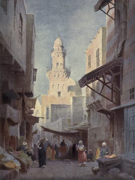 Egypt, Painted and Described - The Gamalieh and Mosque of the Sultan Babaas, Cairo (1902)