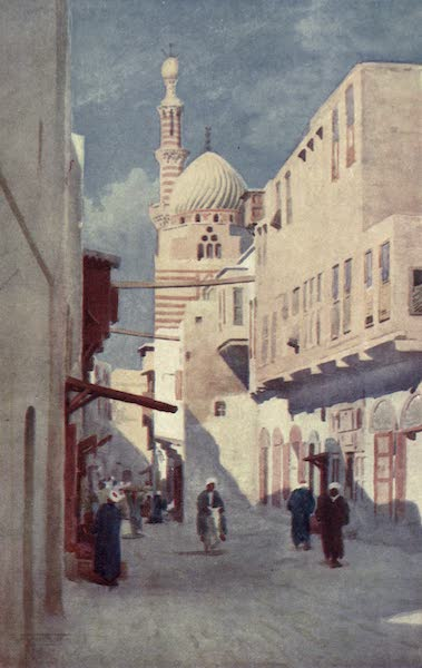 Egypt, Painted and Described - The Sais Mosque, Cairo (1902)
