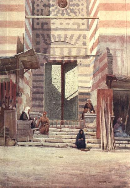 Egypt, Painted and Described - The Bronze Doors of El-Maristan El-Kelaun (1902)