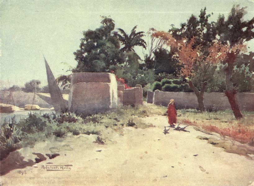 Egypt, Painted and Described - On the Island of Rhoda (1902)