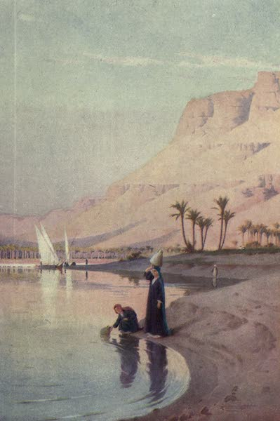 Egypt, Painted and Described - Gibel Kasr-es-Saad (1902)