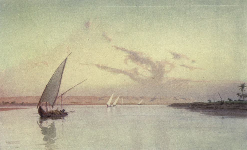 Egypt, Painted and Described - Tel-el-Amarna, on the Upper Nile (1902)