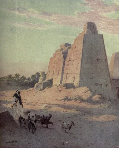 Egypt, Painted and Described - A Silvery Day on the Nile (1902)