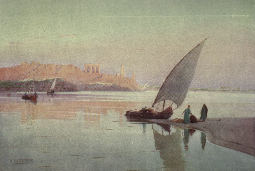 Egypt, Painted and Described - Kom Ombos (1902)