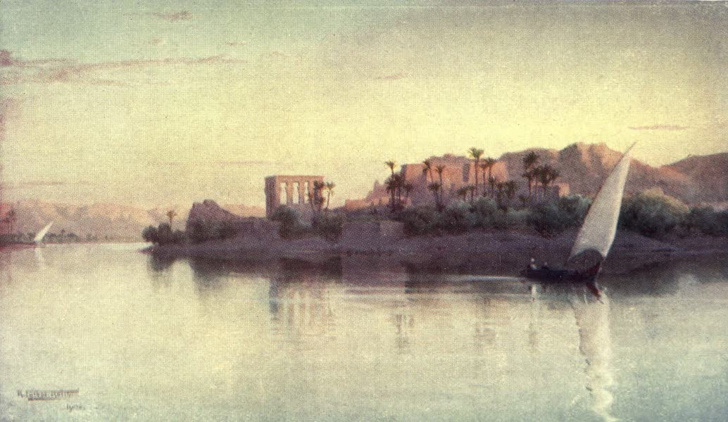 Egypt, Painted and Described - Philae (1902)