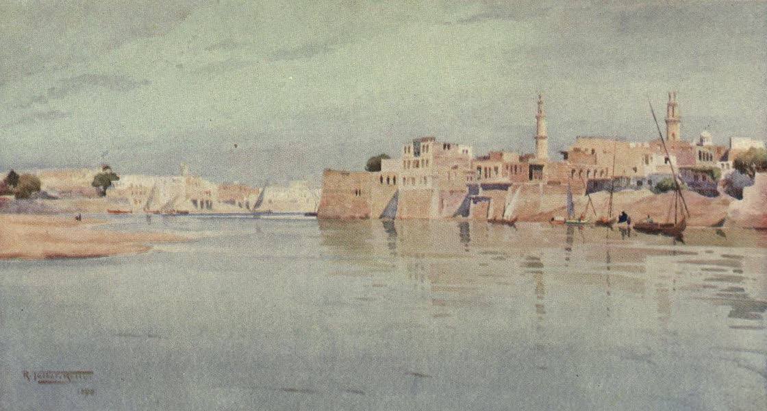 Egypt, Painted and Described - Mit Gamr on the Lower Nile (1902)