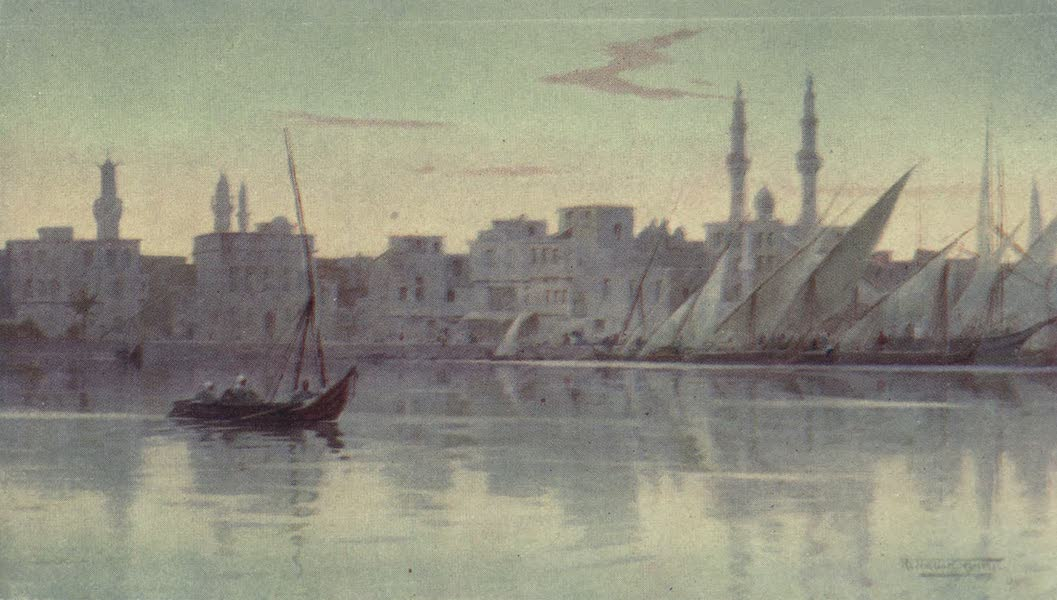 Egypt, Painted and Described - Early Morning at Damietta (1902)