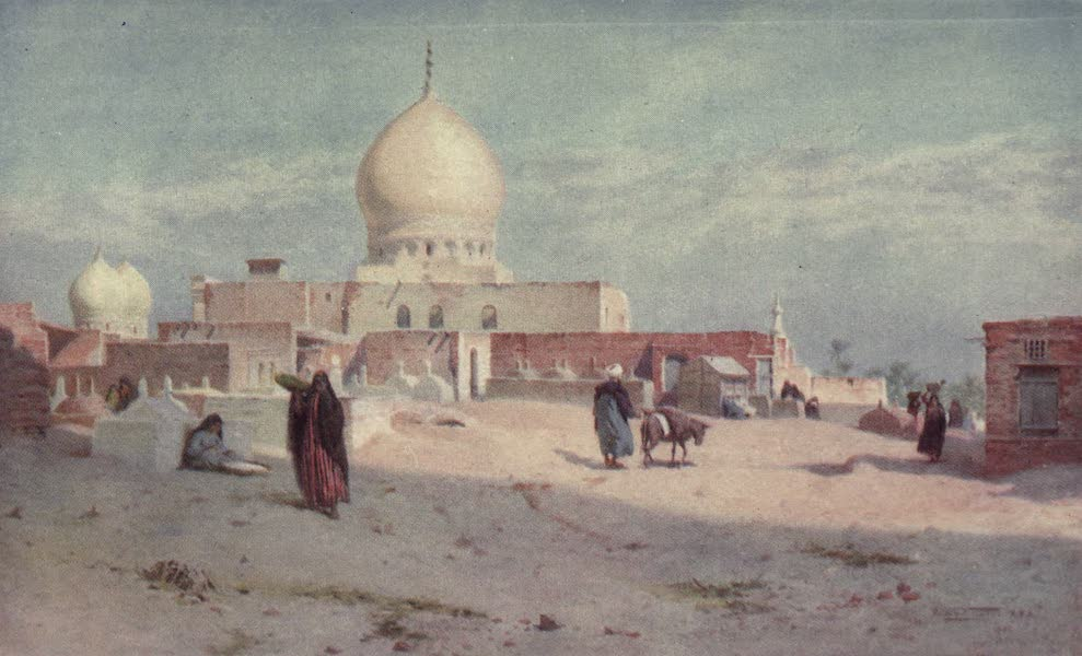 Egypt, Painted and Described - Sheykh's Tomb at Damietta (1902)