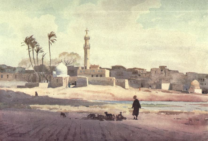 Egypt, Painted and Described - The Village of Salamun (1902)
