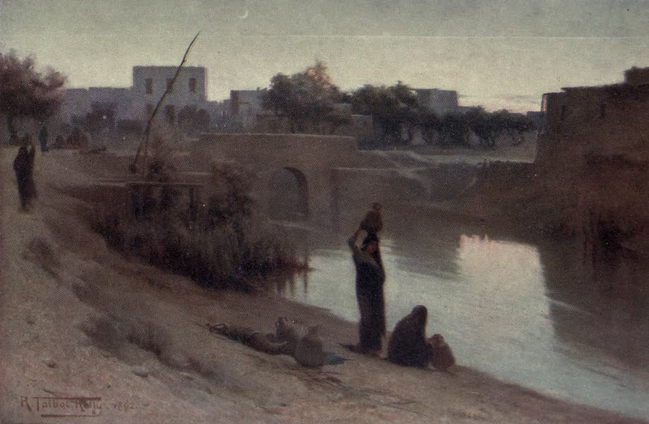 Egypt, Painted and Described - Evening at Fakos (1902)