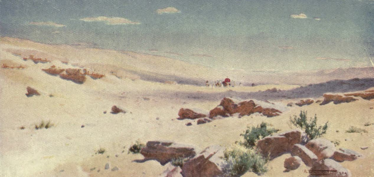 """Egypt, Painted and Described - """"In a Barren and Dry Land, where no Water is"""" (1902)"""