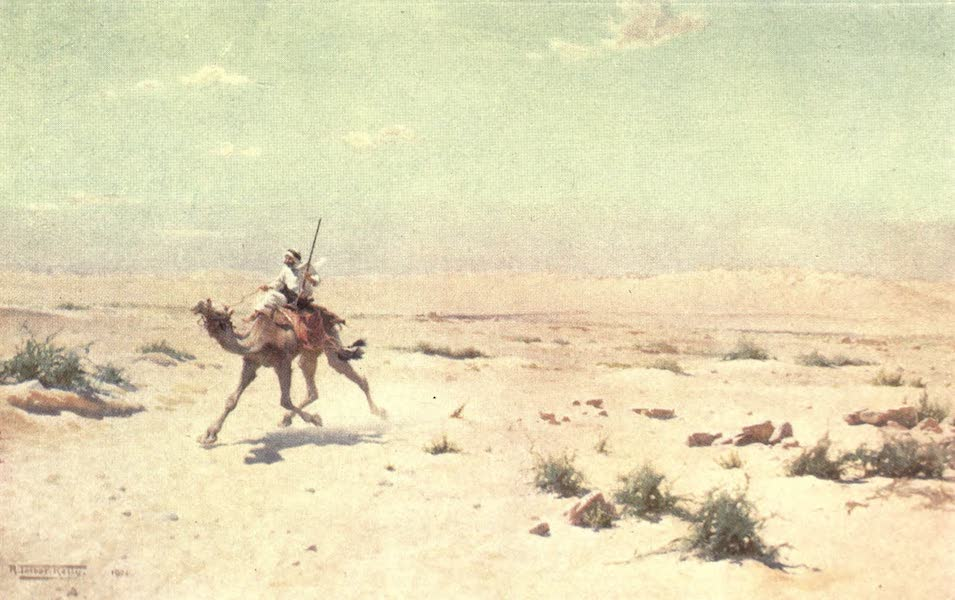 Egypt, Painted and Described - A Desert Courier (1902)