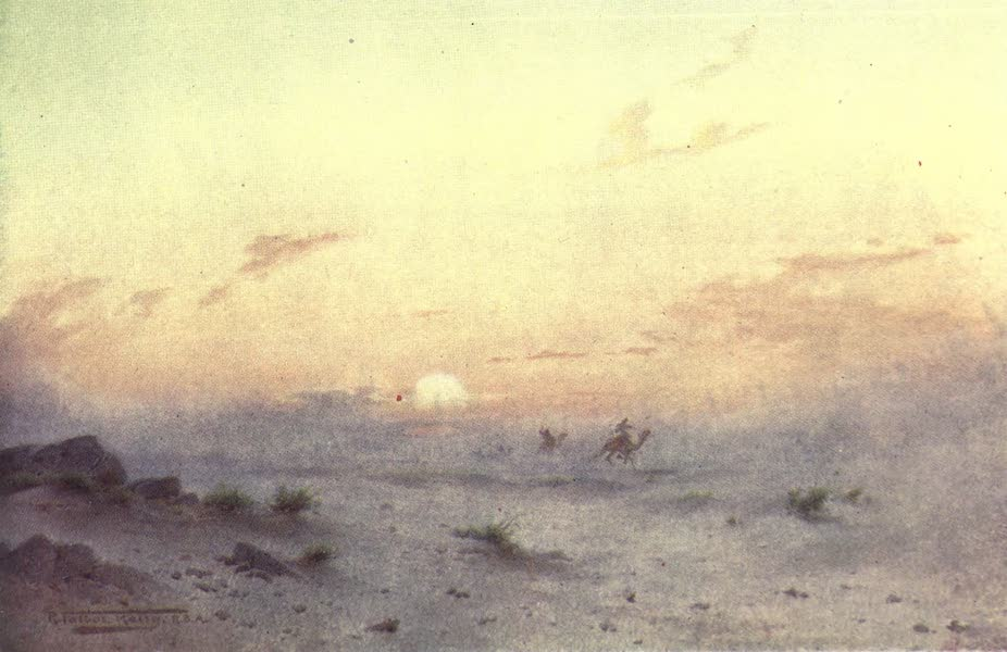 Egypt, Painted and Described - Approaching Storm (1902)