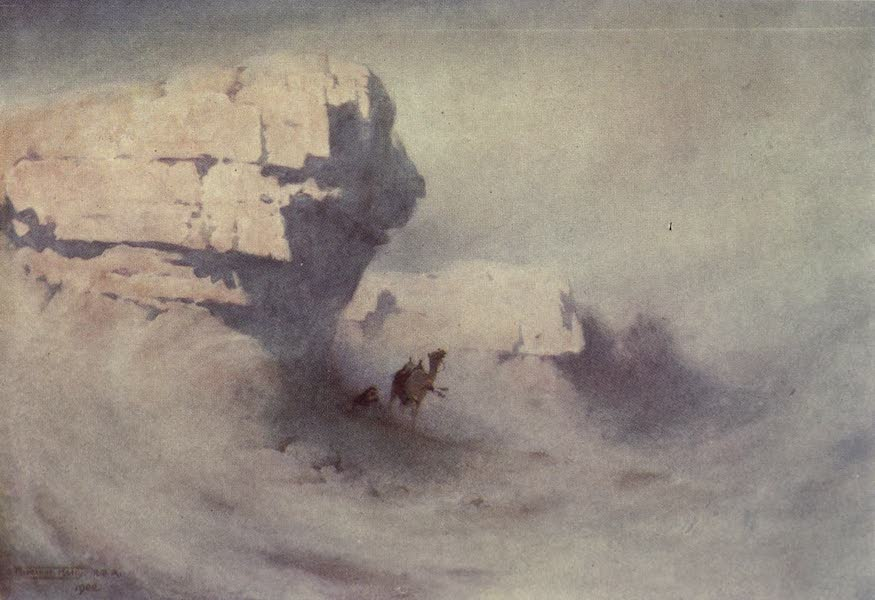 Egypt, Painted and Described - A Sandstorm (1902)
