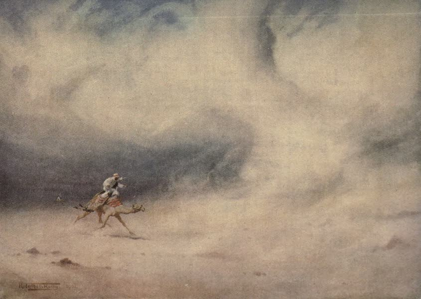 Egypt, Painted and Described - Whirlwind in the Desert (1902)