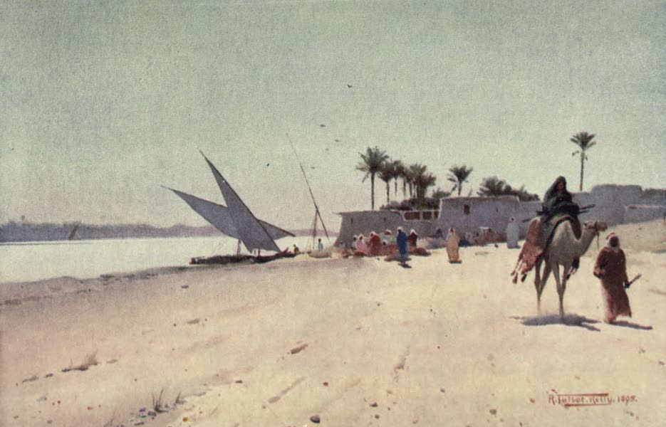 Egypt, Painted and Described - A Nile Village (1902)