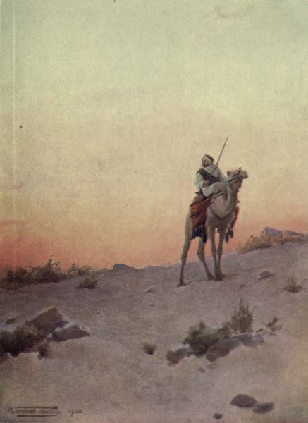 Egypt, Painted and Described - A Desert Scout (1902)