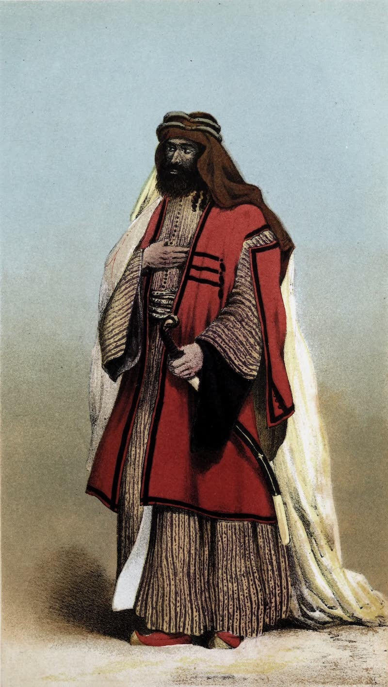 Sheikh Miguel of the Anazeh Tribe