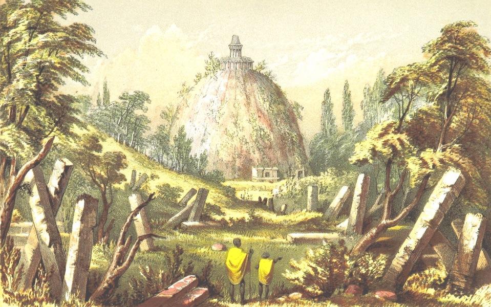 Eight Years' Wanderings in Ceylon - Ruins at Pollanarua (1855)
