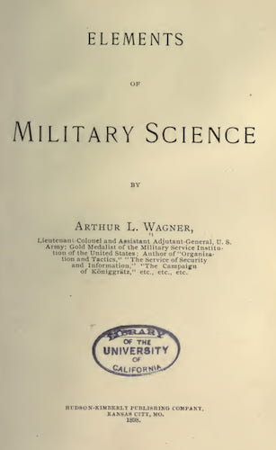 Elements of Military Science (1898)