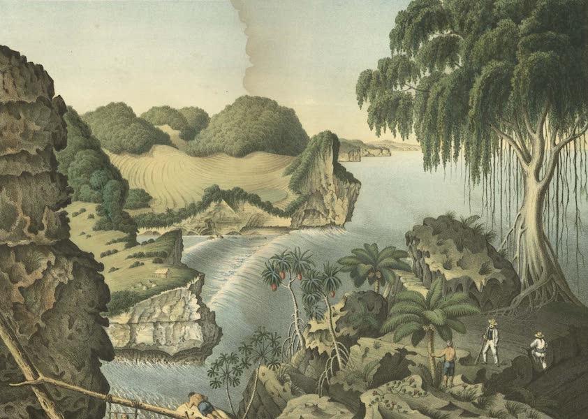 Elf Landschafts-Ansichten von Java - Sudkuste Ostwarts von Rongkop (1853)