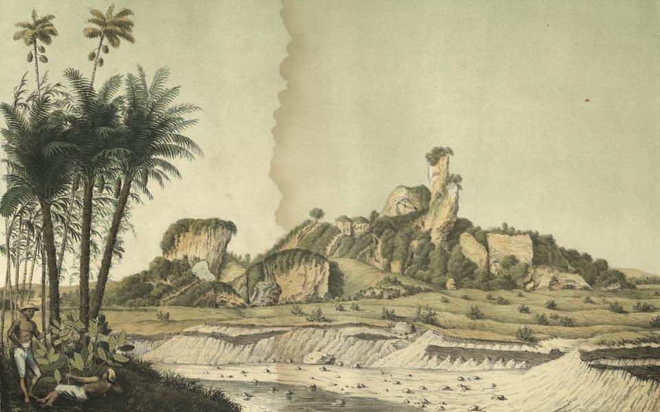 Elf Landschafts-Ansichten von Java - Gunung-Gamping (1853)