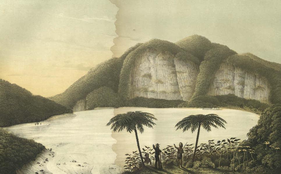 Elf Landschafts-Ansichten von Java - Kahwah-Patua (1853)