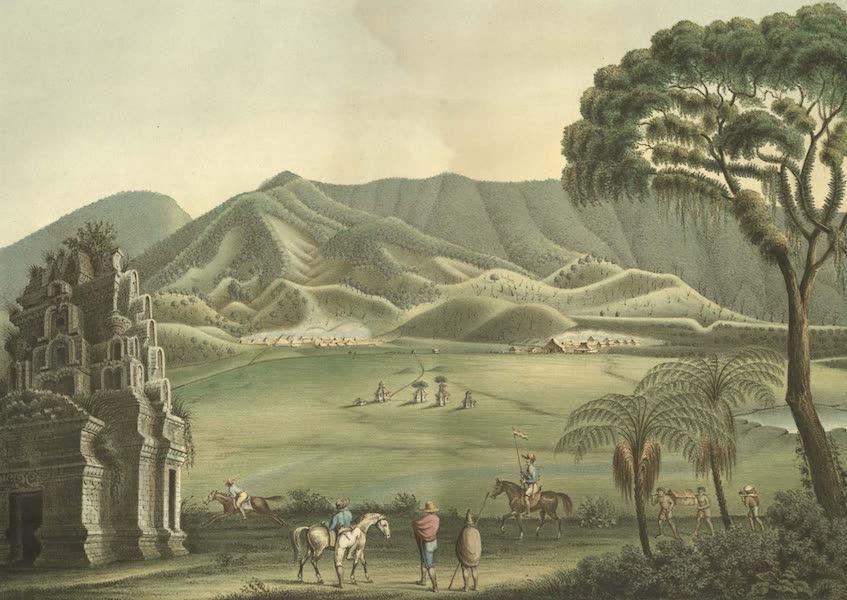 Elf Landschafts-Ansichten von Java - Plateau Dieng (1853)