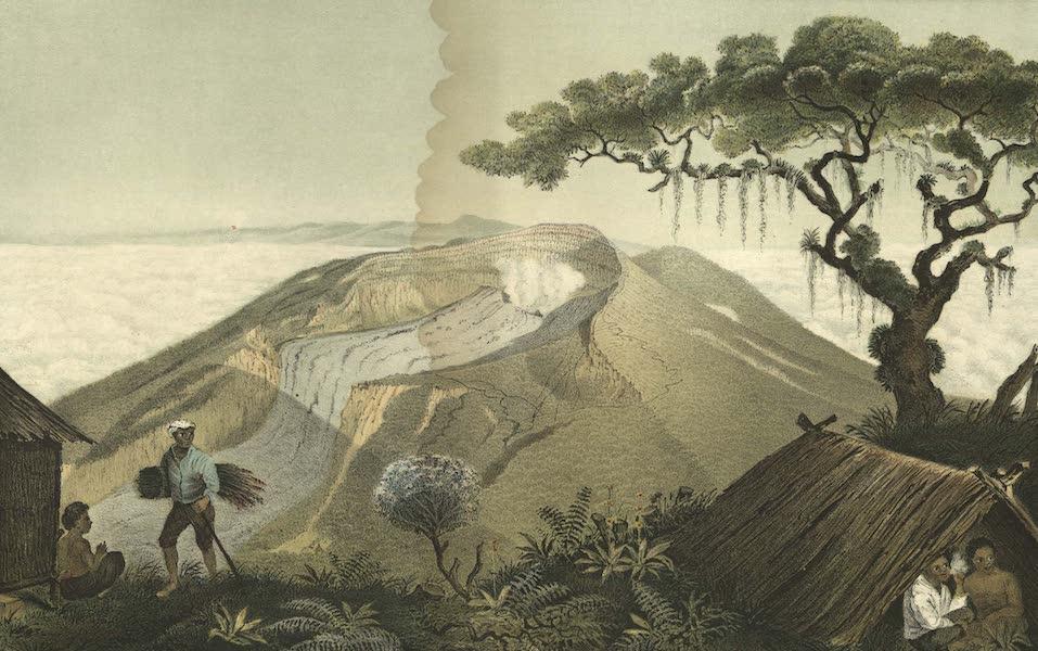 Elf Landschafts-Ansichten von Java - Gunung-Gede (1853)