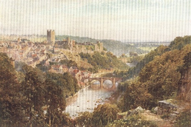 England - Richmond, Yorkshire (1914)