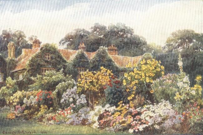 England - A Kent Manor-House and Garden (1914)