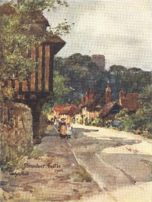 England - A Sussex Village (1914)
