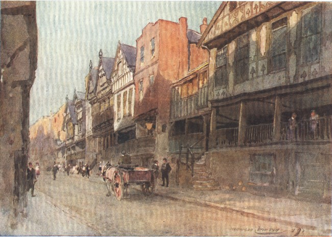 England - Watergate Street, Chester (1914)