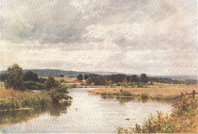 England - The River Rother, Sussex (1914)