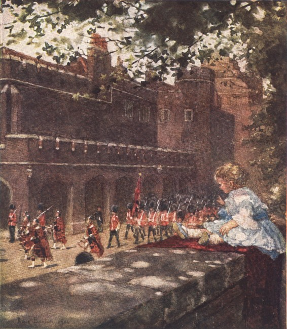 England - Changing the Guard (1914)