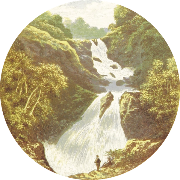 English Lake Scenery - Colwith Force (1880)