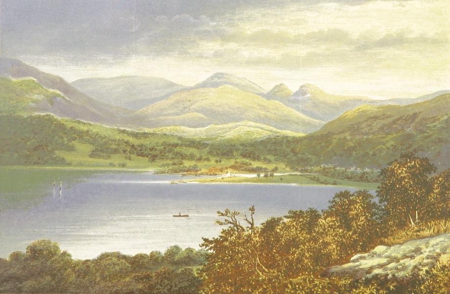 English Lake Scenery - Windemere, Head of the Lake (1880)