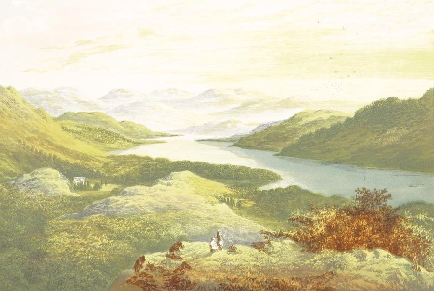 English Lake Scenery - Windemere, Looking Up the Lake (1880)