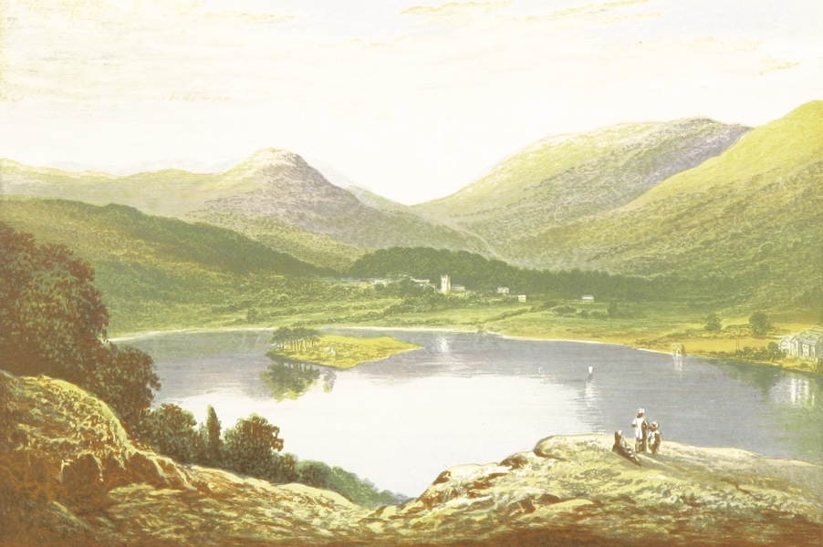 English Lake Scenery - Grasmere (1880)