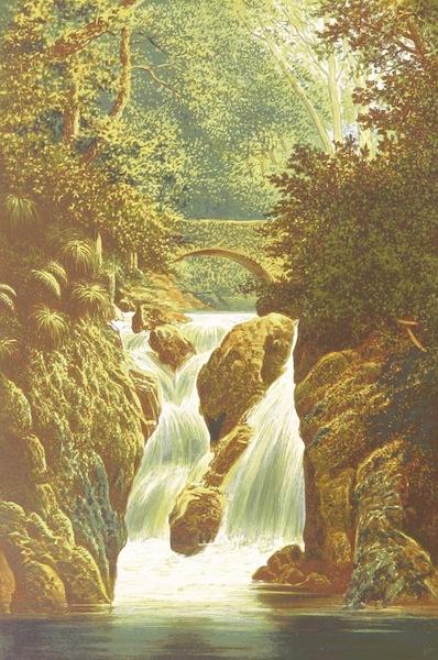 English Lake Scenery - Rydal: Lower Fall (1880)