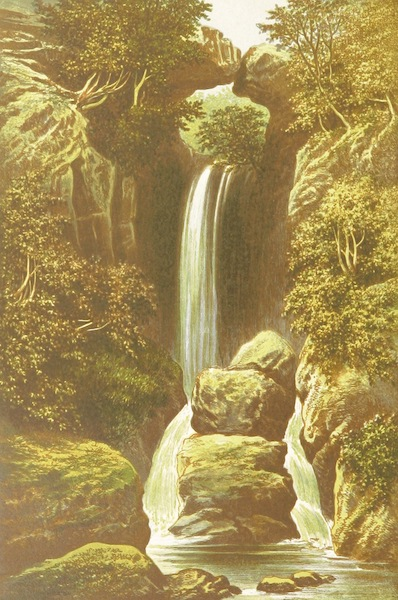 English Lake Scenery - Dungeon Gill (1880)