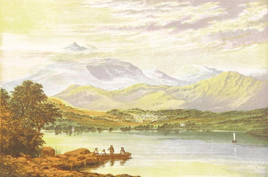 English Lake Scenery - Coniston Lake (1880)