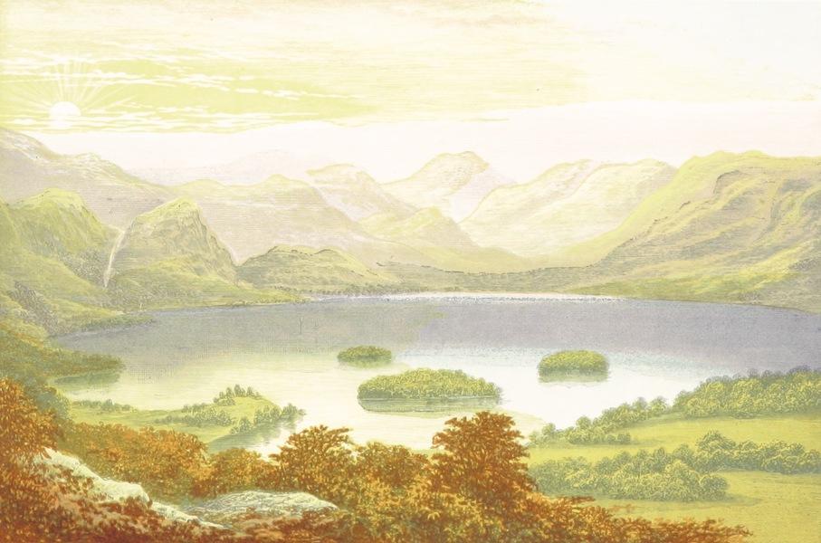 English Lake Scenery - Derwentwater (1880)