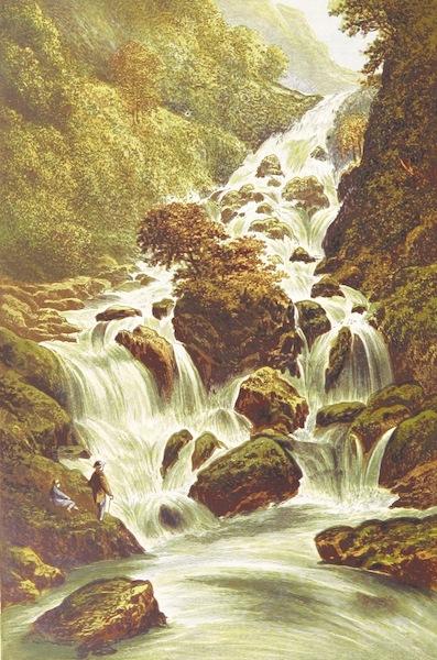 English Lake Scenery - Lodore (1880)